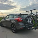ford focus with bike rack